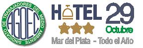 Hotel 29 de Octubre - Mar del Plata -  AGOEC